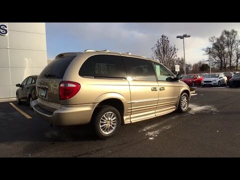 2002 Chrysler Town & Country Bourbonnais, Frankfort, Matteson, Manteno, Manhattan, IL 28796