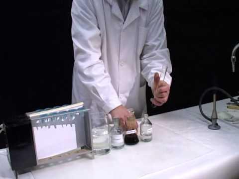 Качественная реакция на этанол