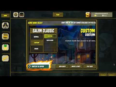 Custom night Salem gameplay p1