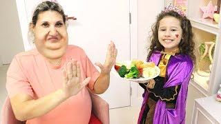 Filha ensina sua Mãe a comer adequadamente ❤️ дочь учит маму правильно питаться и заниматься спортом