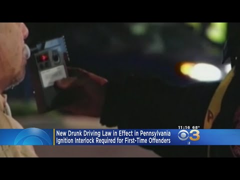 New DUI Law To Take Effect In Pennsylvania