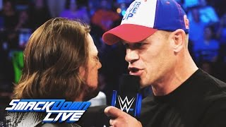 Relive the heated rivalry between John Cena and AJ Styles: SmackDown Live, Aug. 9, 2016