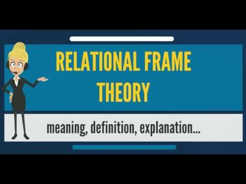 What is RELATIONAL FRAME THEORY? What does RELATIONAL FRAME THEORY ...