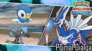 PMD2+ORAS Hack Battle | Vs. Primal Dialga - Pokemon Omega Ruby/Alpha Sapphire