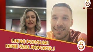 Lukas Podolski'den Derbi Öncesi Destek Mesajı