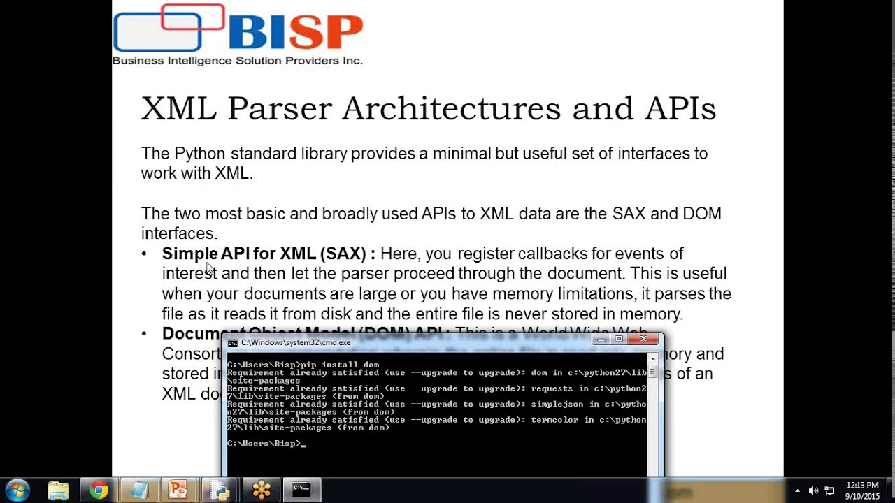 How to parse xml file using python - YouTube