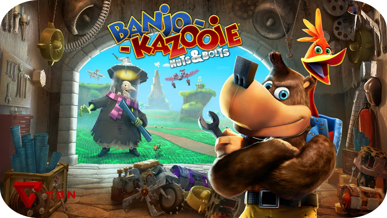 Random Games Capitulo 12 Banjo Kazooie Nuts and Bolts