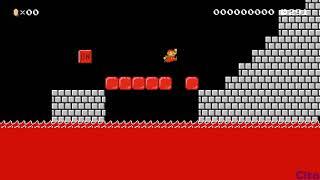Super Mario Maker 2 lava escape sinkun lava hard F7R-7BL-J0H