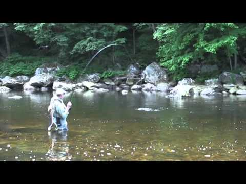 Fly Fishing The Deerfield River - The Berkshires In Western MA