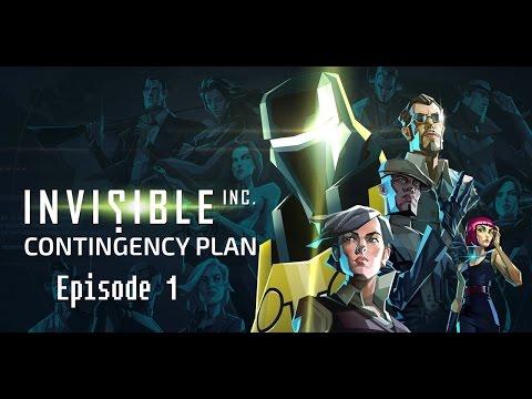 Invisible Inc: Contingency Plan DLC - Episode 1- [Cakewalk.exe] (Gameplay)
