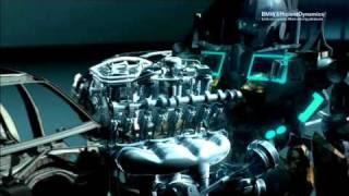 BMW TwinPower Turbo Motoren CGI-animation