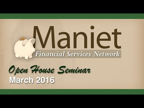 Maniet Open House Seminar - Identity Theft Prevention