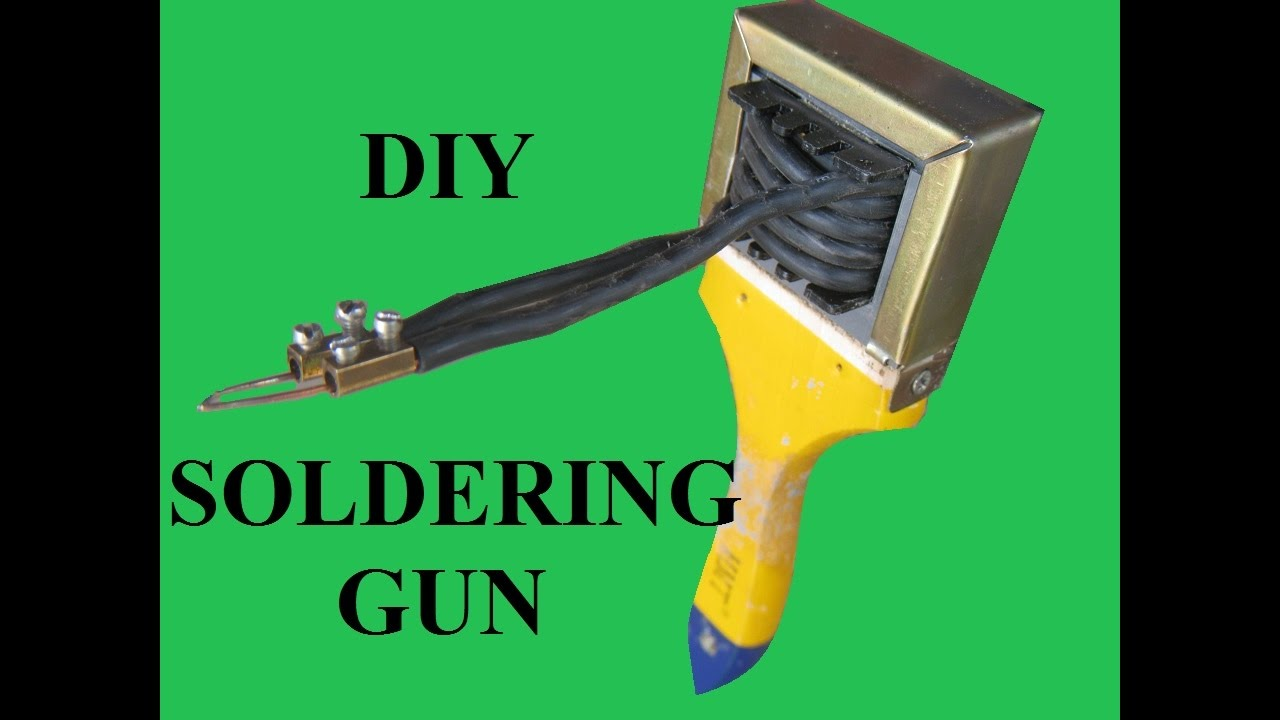 Homemade soldering gun youtube solutioingenieria Choice Image