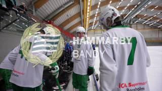 Höjdpunkter Hammarby Bandy - TB Västerås 3:3  Träningsmatch 21.10. 2016