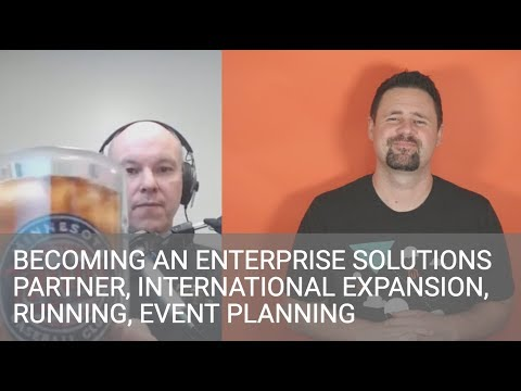 Brent Peterson - The Wagento Journey, International Expansion, Event Planning, Running, & More