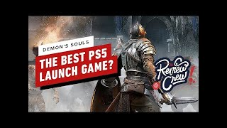 Why Demon's Souls Is The Best PS5 Launch Game - The Review Crew Ep. 2 (Video Game Video Review)