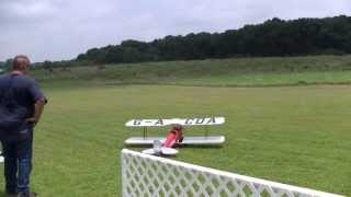 hangar 9 tigermoth biplane