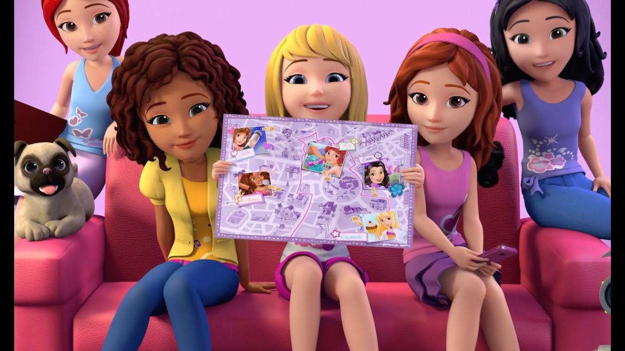 Meet Us Come Along On Our Tours Lego Friends Youtube