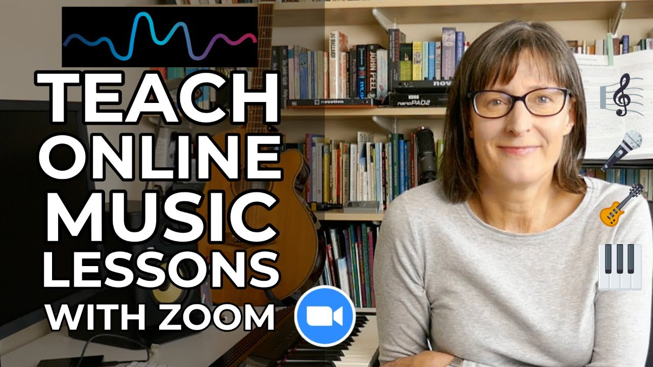 Teach Online Music Lessons with Zoom - Studio Gear & Software Setup