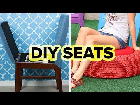 4 Easy DIY Seats With Hidden Storage