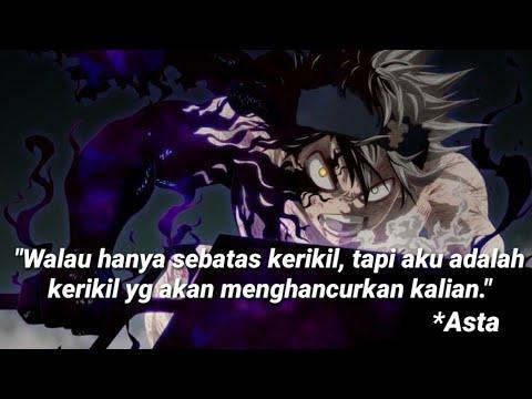 Kata Kata Bijak Anime Black Clover Youtube