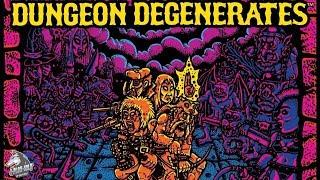 1-Настольная игра Отребье Подземелья (Dungeon Degenerates). Расклад игры
