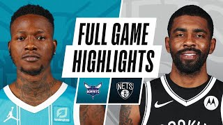 HORNETS at NETS | FULL GAME HIGHLIGHTS | April 1, 2021