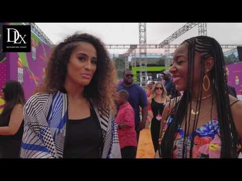 2017 Kids' Choice Sports Awards with Skylar Diggins-Smith