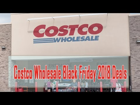 Big D - You know I'm getting ready for the big deals at Costco this Black Friday