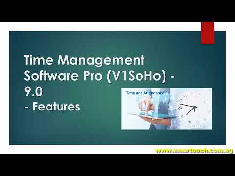 Time Management Software Pro V1SoHo 9 0 in Malaysia and Singapore Link with Payroll for Payslip