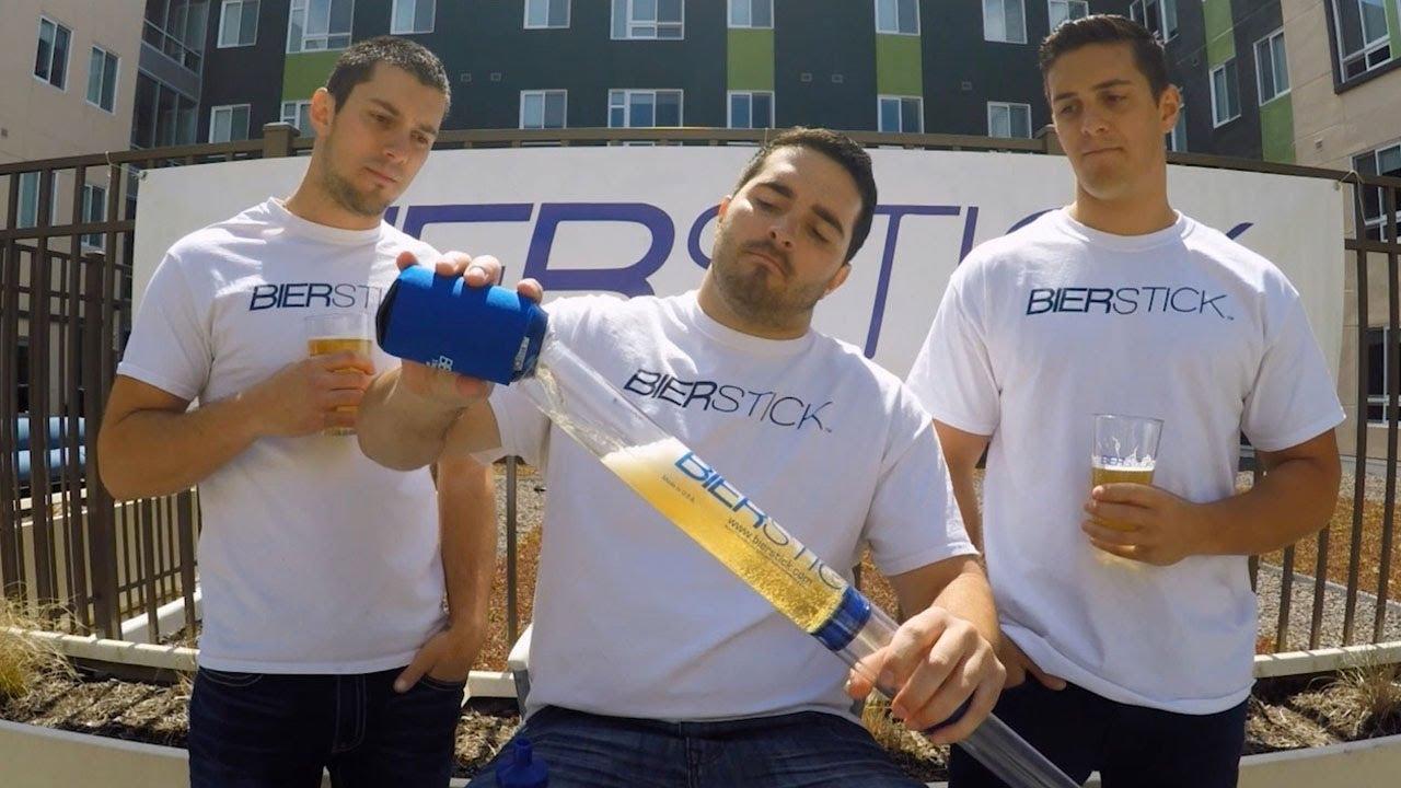 The Beer Stick Beer Bong Beer Syringe