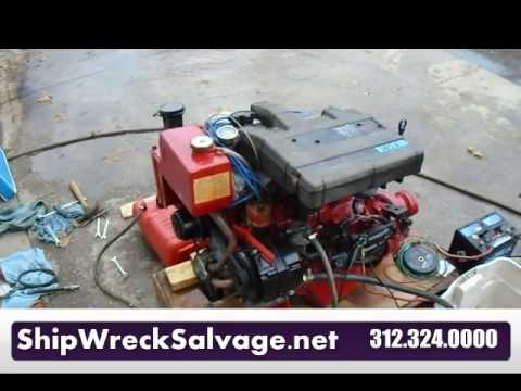 volvo penta aq140a engine motor for sale youtube