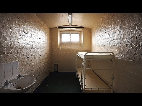 INSIDE AN ANCIENT DISUSED PRISON