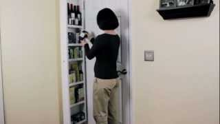 Concealable Door Storage Cabinets