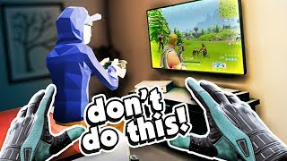 CAN I STEAL HIS GAMING CONSOLE? - There is a Thief in my House VR