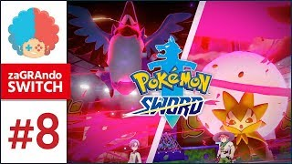 Pokemon Sword PL #8 | Switch | Pierwszy GYM! DYNAMAX!