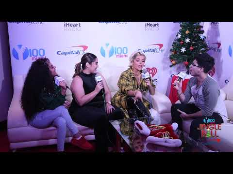 Y100's Jingle Ball - Bebe Rexha: Backstage at #Y100JingleBall with Frankie, Michelle, and Caro