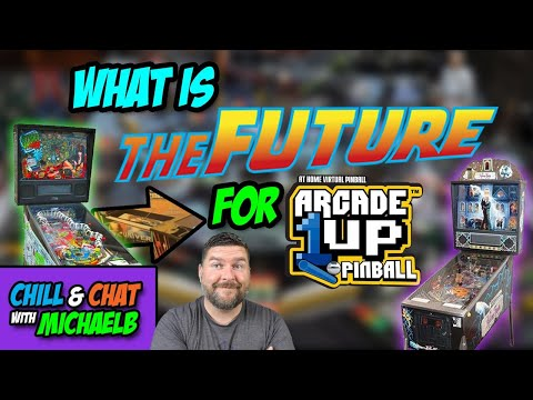 What is the Future for Arcade1Up Pinball | MichaelBtheGameGenie from MichaelBtheGameGenie