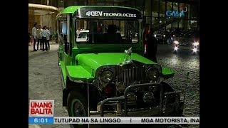 UB: eJeepney, tradisyunal na Pinoy jeep ang itsura pero de-baterya