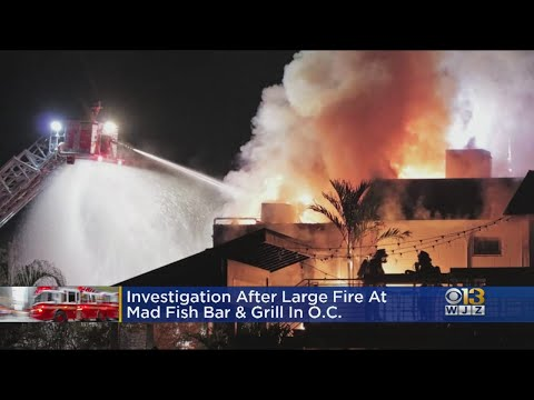 Investigation Begins Into What Started Fire At Mad Fish Bar & Grill