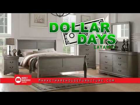 Dollar Days At Market Furniture Warehouse In El Paso Youtube