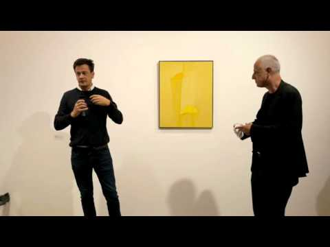 Luc Tuymans in conversation with artists from 'The Gap' at Parasol unit
