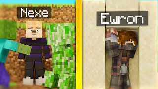 NEXE vs EWRON (Minecraft Death Swap)
