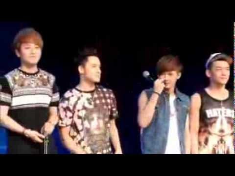 [130727] M.I.C. JC-T & CJ KISS KISS!!! @ Win In China (FanCam)