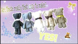 Wash cloth Bears in 4 minutes.