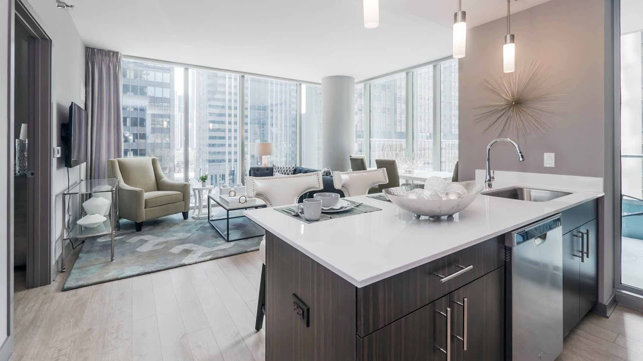Tour A 2 Bedroom, 2 Bath Model At The Luxurious New MILA Apartments    YouTube