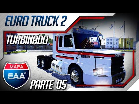 Euro Truck Simulator 2 - Mod Som Scania 113H para Mapa EAA