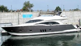 2012 Marquis 720 Motor Yacht - Exterior and Interior - 2012 Montreal In-Water Boat Show