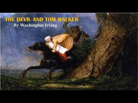 Learn English Through Story - The Devil and Tom Walker by Washington Irving