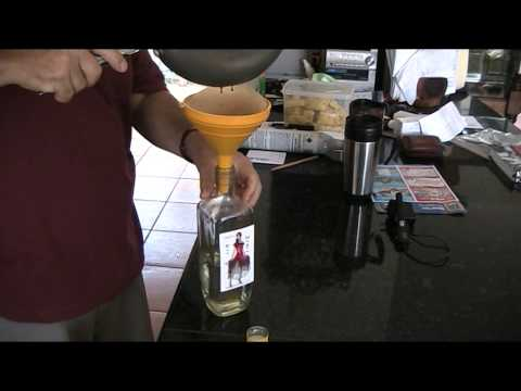 Home made rum flavouring for a vodka base (Ron Negra)